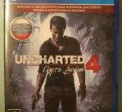Uncharted 4 на PS4 + доп. материалы