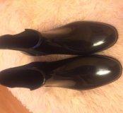 Новые Резиновые сапоги