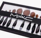 Набор кистей для макияжа M.A.C. Oval Brush