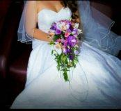 Свадебное платье русалка 44-46 размер
