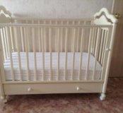 Детская кроватка- качалка фирмы Гандылян