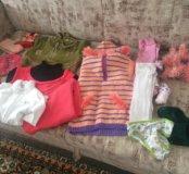 Вещи для девочки 3 года .Пакетом .
