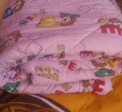 Детское одеяло и балдахин на кроватку
