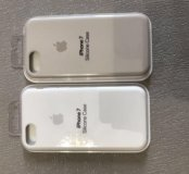 Оригинальные силиконовые чехлы на iPhone 7