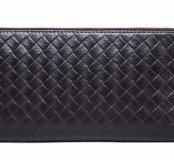 Клатч портмоне натуральная кожа кошелёк бумажник