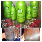 Ламинирование волос с протеинами шелка