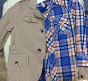 Набор куртка +рубашка
