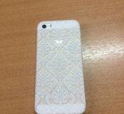 Чехол для iPhone 5 и 5S Ажур