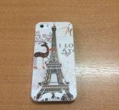 Чехол для iPhone 5 и 5S Эф. башня