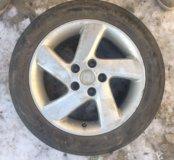 Комплект дисков и резины для Mazda 3
