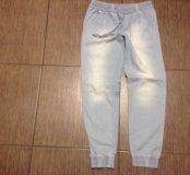 Брюки из легкой джинсы