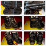 Ботинки черные Антилопа