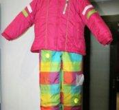 Зимний комплект 92-98 см (куртка + полукомбинезон)