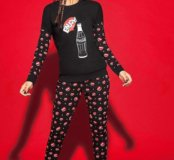 """Новая пижама Tezenis, принт """"Coca-cola"""", с бирками"""