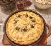 Татарский пирог балиш-выпечка