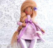 Беременная интерьерная кукла