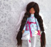 Интерьерная кукла.Ангел сплюшка