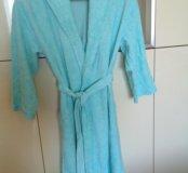 Махровый халат для беременных 48