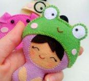 Куколка в шляпке