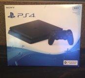 Новая приставка PlayStation 4 Slim 500 Gb. Гаранти
