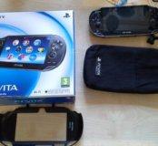 PS Vita PCH-1008 + 18игр