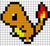 Пиксель арт на заказ из термомозайки