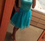 Нежное пышное платье