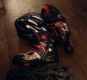 Ролики. Шлем