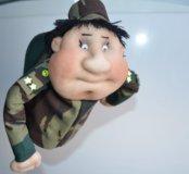 Кукла попик к дню защитника отечества