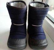 Зимние сапоги для мальчика kuoma (куома) 21 размер