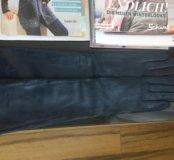 Перчатки LUXE (бренд), натуральная кожа. Р. 8
