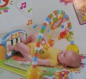Игровой коврик с пианино