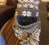 Шапка-шарф для девочки из Эстонии
