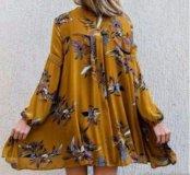 Новое платье , 48-50  под  лосины  или шортики