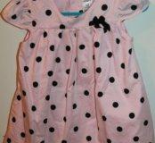 Платья для девочки на 9 и 12 месяцев