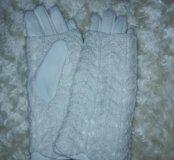 Перчатки+митенки