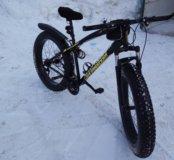 Велосипед на больших колесах фэтбайк