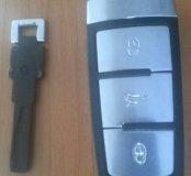 чип ключ на пассат