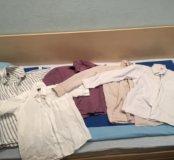 Рубашки школьные на 140-146 см и 146-152см