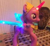 Интерактивная пони принцесса твайлайт спаркл