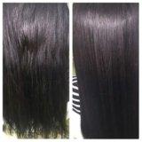 Кератиновое выпрямление волос keune