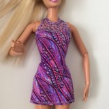 Коктейльное платье для Barbie