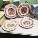 Английские тарелки Royal Doulton Brambly