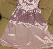 Атласное платье OODGI новое с этикетками