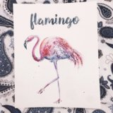 Постер Фламинго