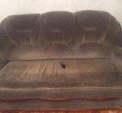 Мягкая мебель: диван и 2 кресла