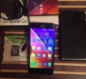 Телефон asus zc500tg+3 чехла + карта на 32gb