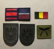 Нашивки и шевроны НАТО