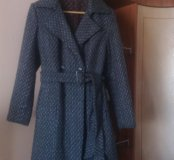Пальто утепленное (новое)