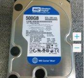 Надежный жесткий диск 500 Gb в идеальном состоянии